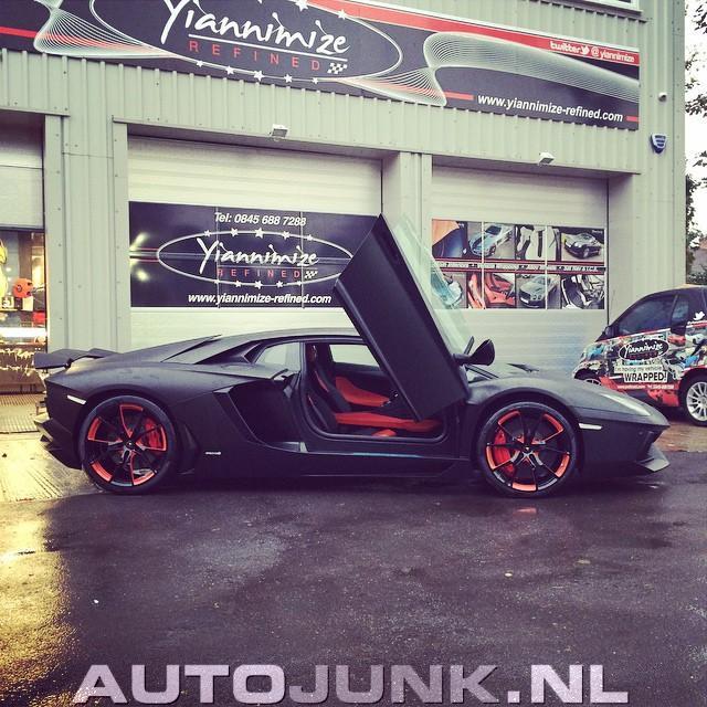 2014 Lamborghini Aventador Lp700 4: Lamborghini Aventador LP-700-4 Van Manchester City