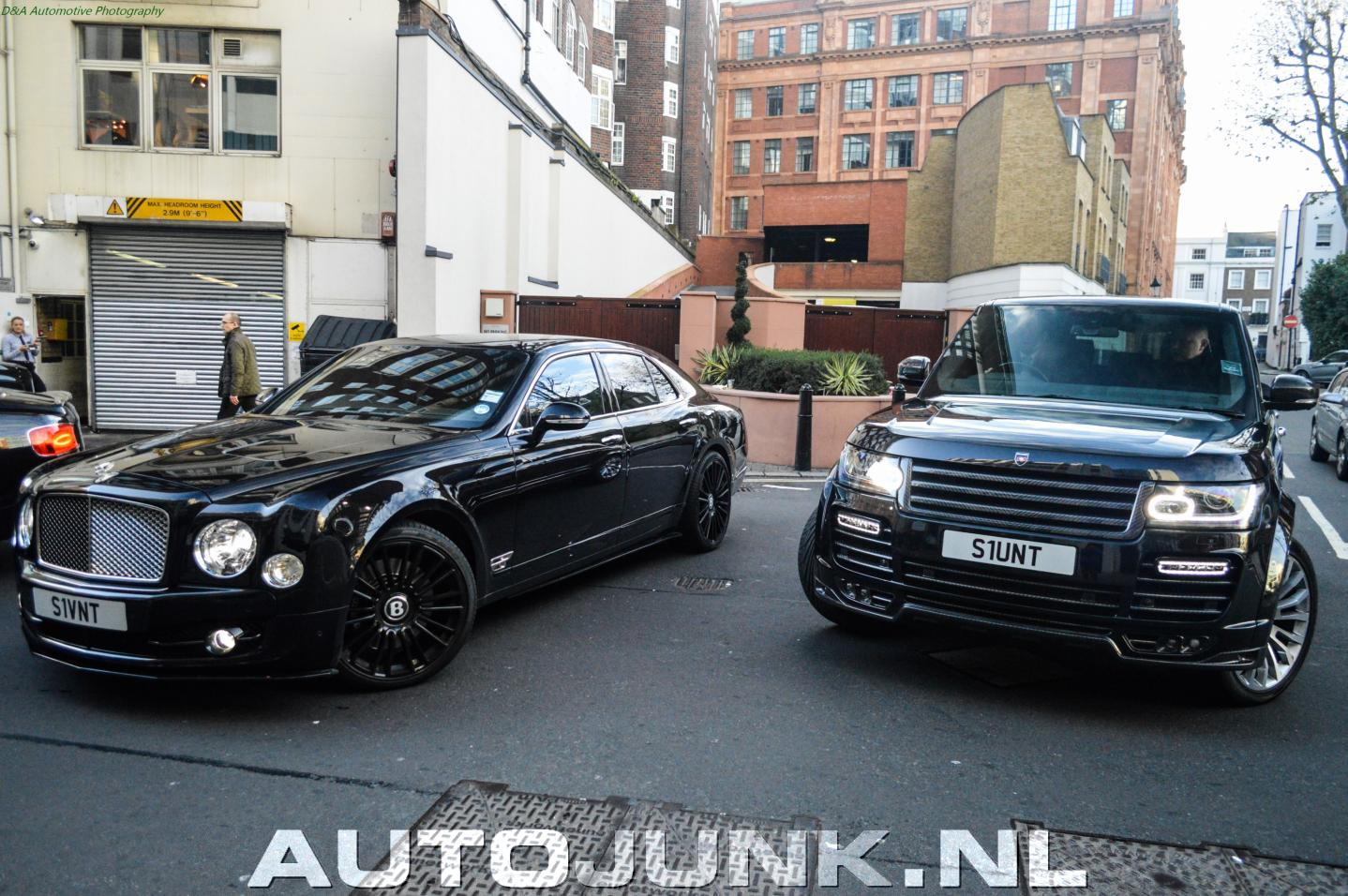 Combo Mansory Bentley Mulsanne Flying Spur Range Rover