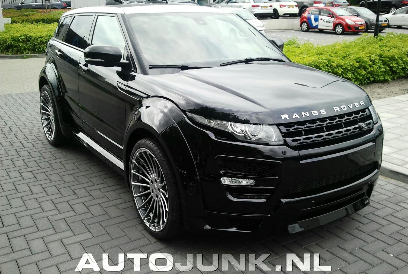 Beroemd Super dikke Range Rover Evoque foto's » Autojunk.nl (130621) UQ32