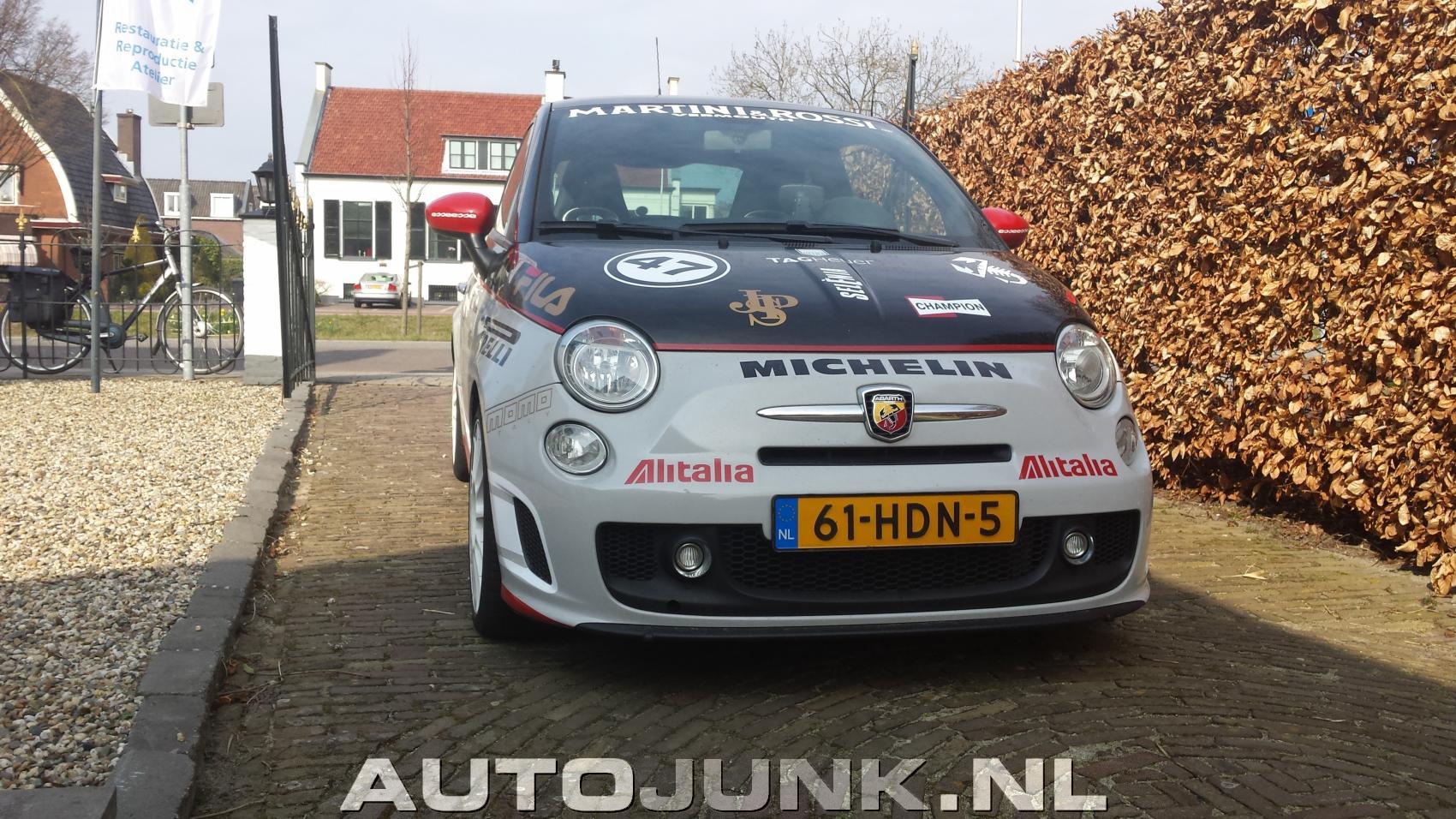 Abarth 500 Esseesse Gumball 3000 foto's » Autojunk.nl (137619)