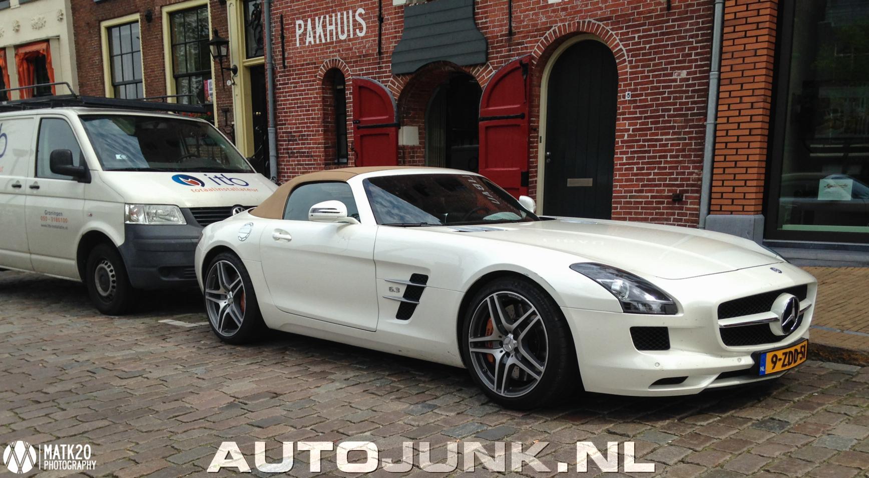 Mercedes benz sls amg roadster foto 39 s 141372 for 2015 mercedes benz sls amg convertible