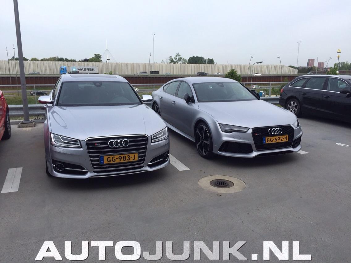 Audi S8 vs. Audi RS7 foto's » Autojunk.nl (142623)