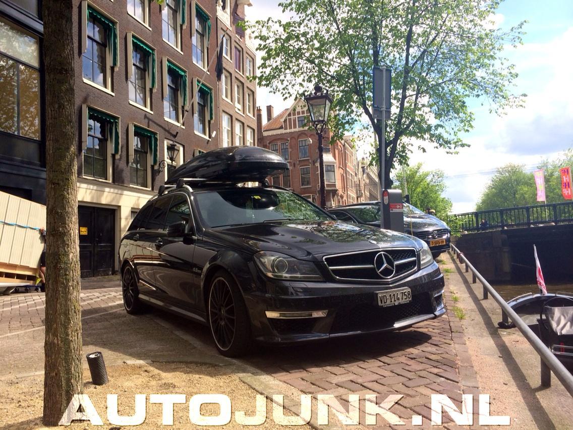 Mercedes C63 Amg Dakkoffer Foto S Autojunk Nl 142681