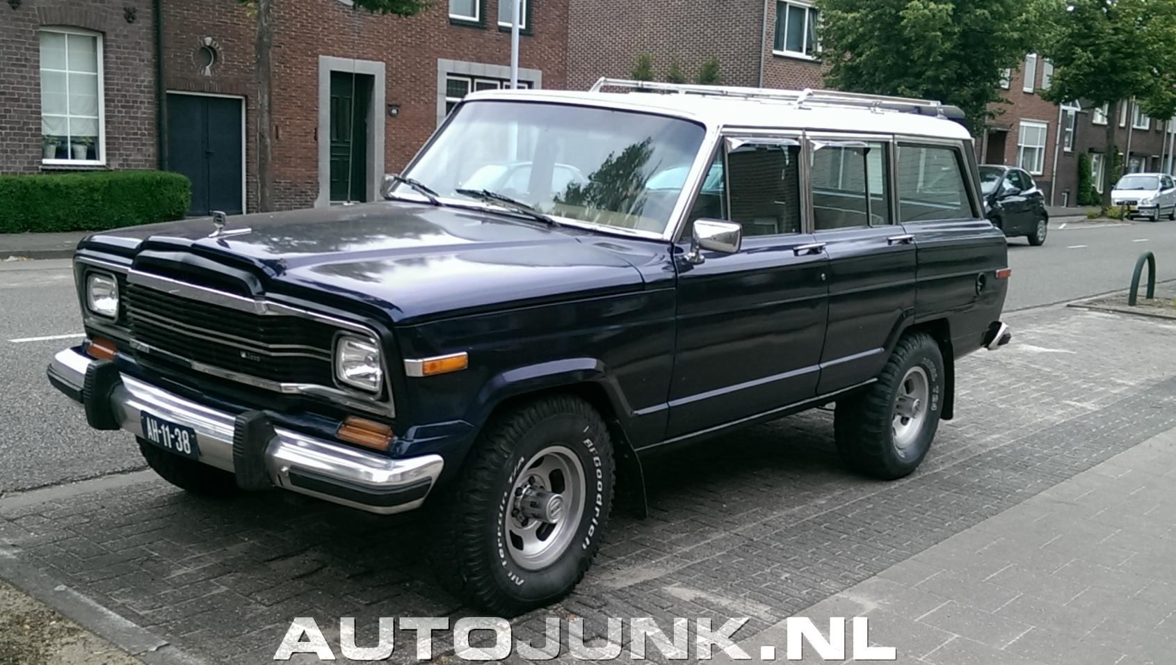 fotos de jeep wagoneer 82 preciosa en m xico pictures to pin on. Cars Review. Best American Auto & Cars Review