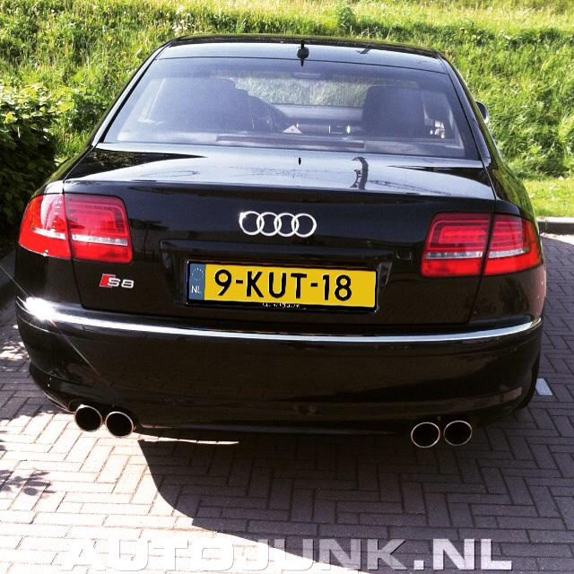 Kut Kenteken Audi S8 Foto S 187 Autojunk Nl 144767