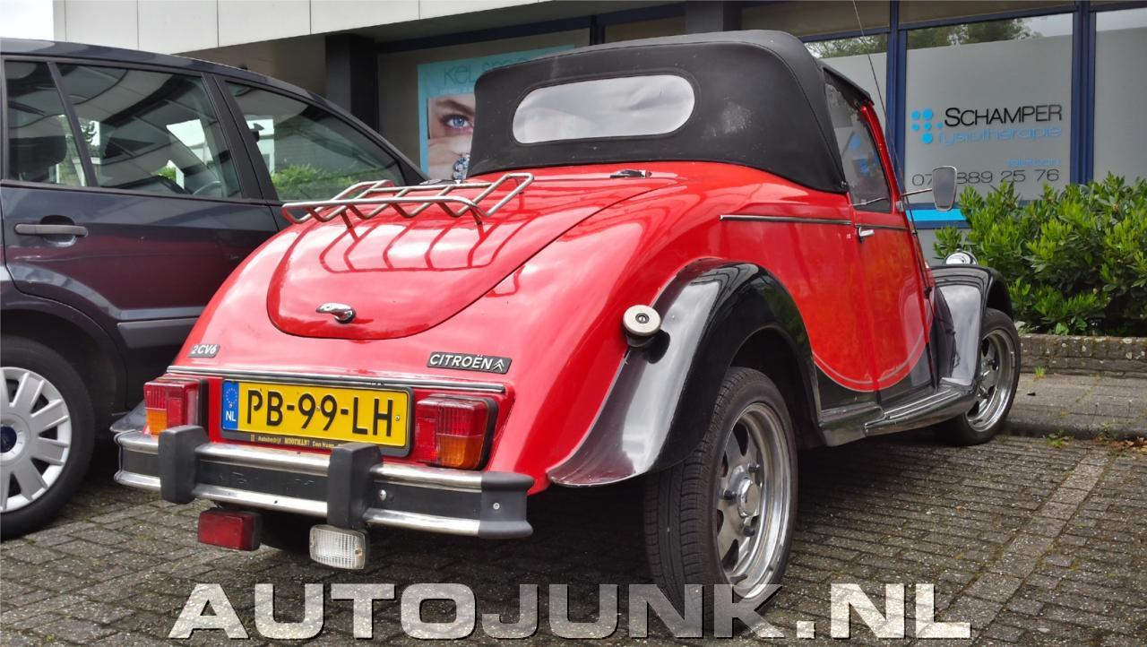 citro u00ebn 2cv roadster foto u0026 39 s  u00bb autojunk nl  144880