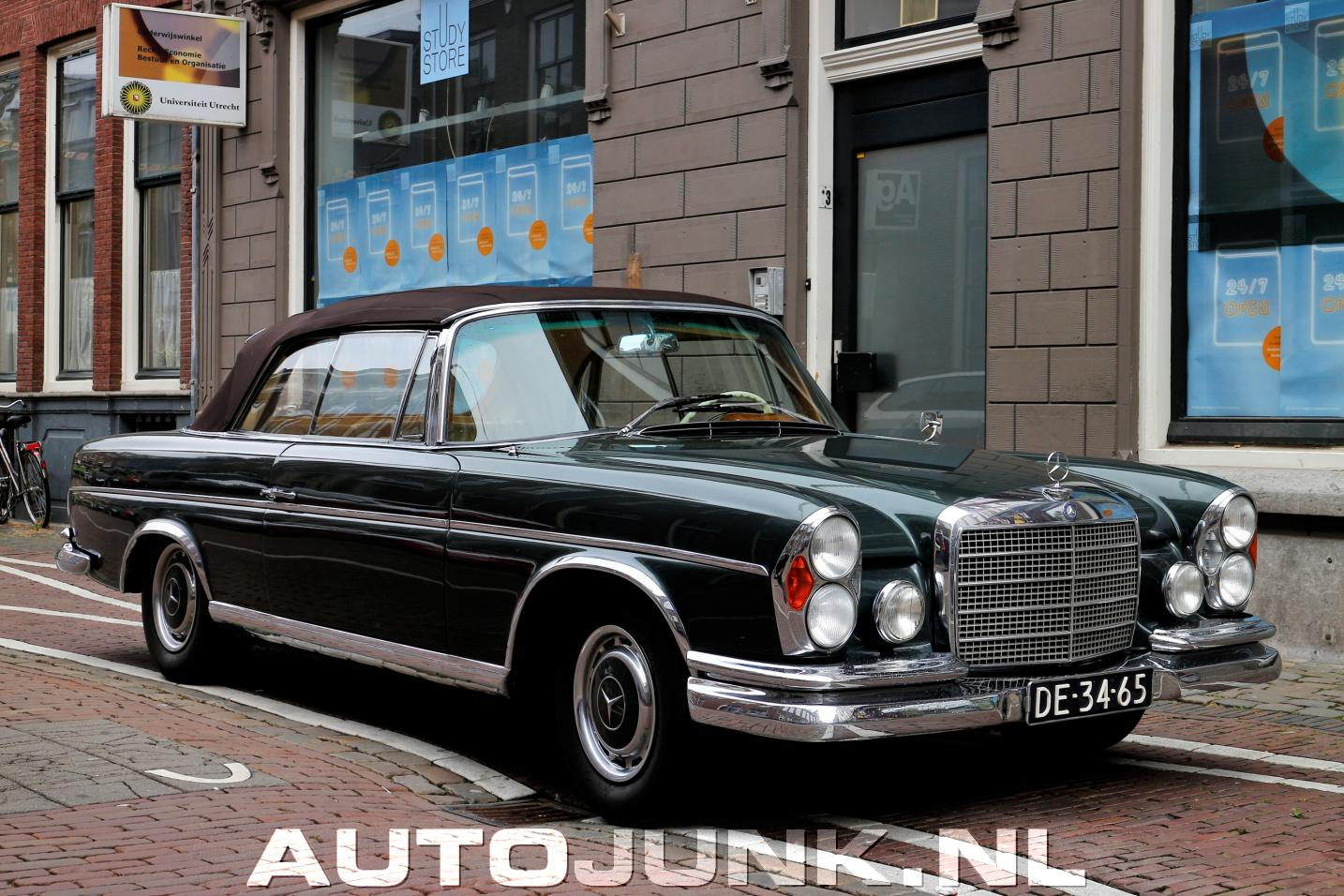 mercedes benz 220 se cabriolet foto 39 s 146422. Black Bedroom Furniture Sets. Home Design Ideas