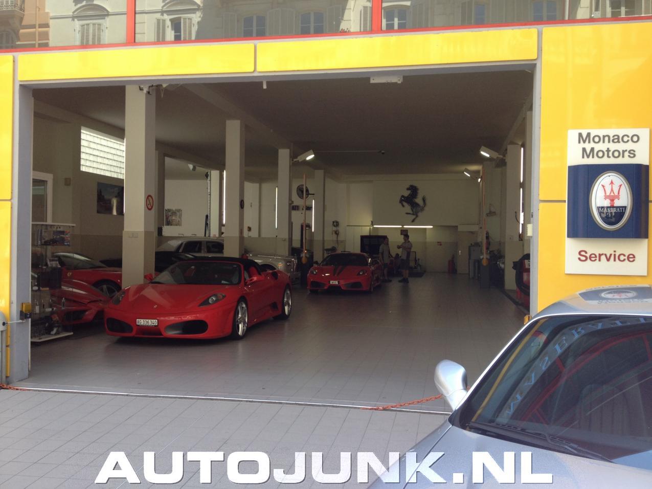 Ferrari garage monaco foto 39 s 148455 for Garage ferrari monaco