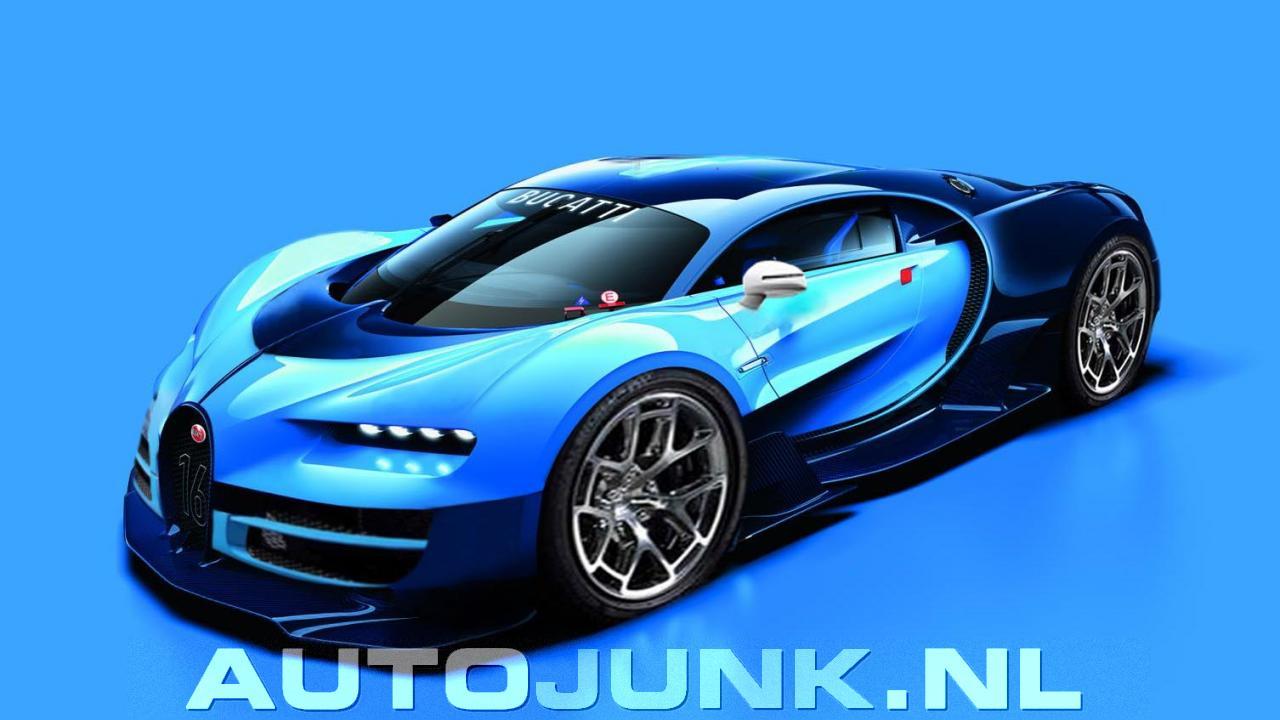 Ruwe Photoshop Bugatti Chiron Foto S Autojunk Nl 151113