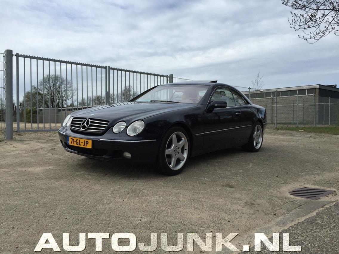 Mercedes benz cl600 foto 39 s 159198 for Mercedes benz nl