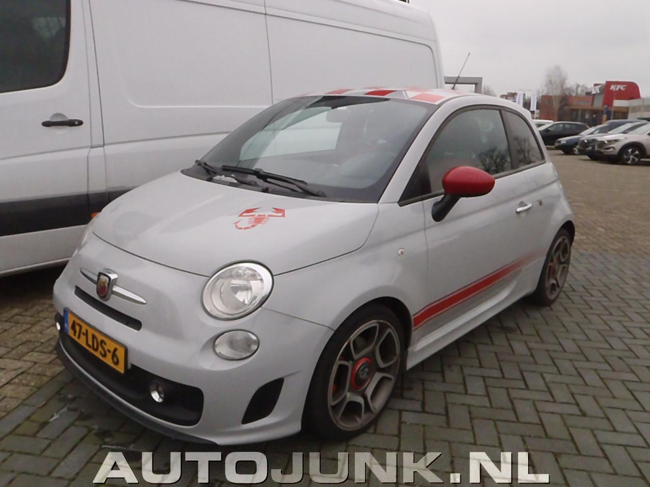 2010 Fiat 500 Abarth Grijs foto's » Autojunk.nl (160317)