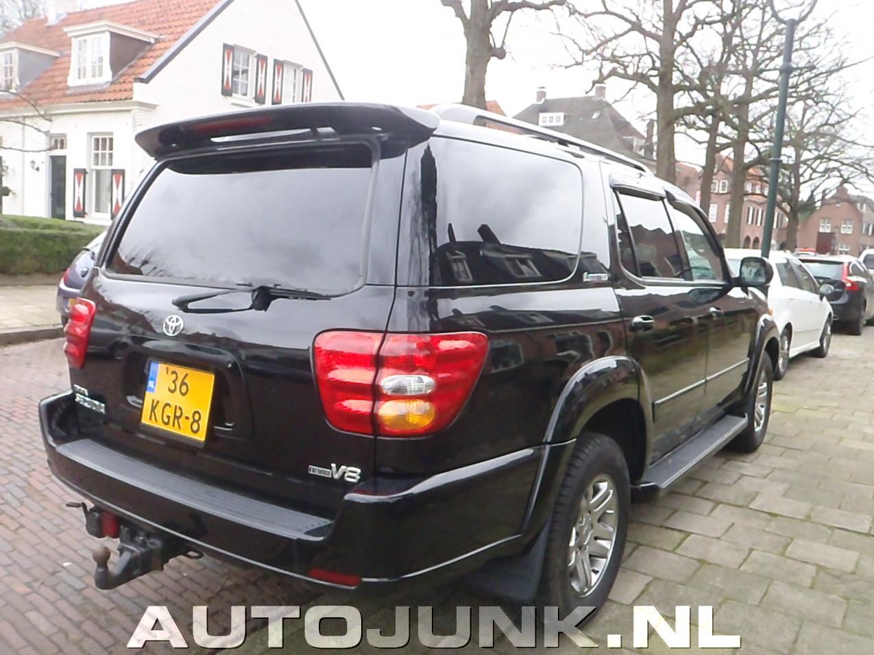 Toyota sequoia nederland