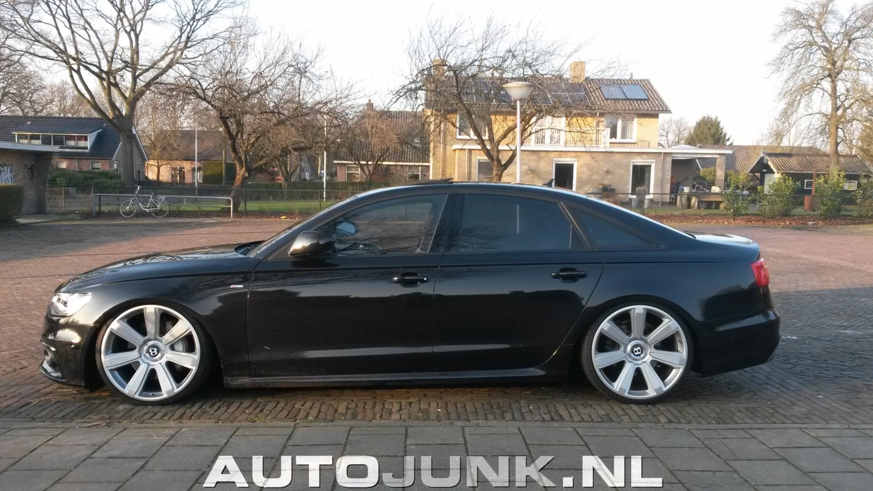 Gespot Audi A6 Met Bentley Velgen Foto S 187 Autojunk Nl