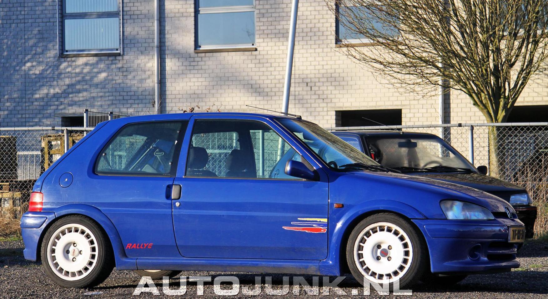 Peugeot 106 Rallye S2 Fotos Autojunknl 163282