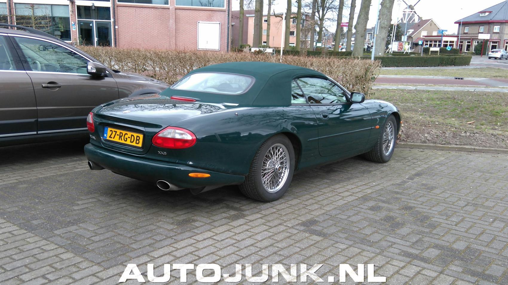 jaguar xk8 cabrio foto 39 s 164623. Black Bedroom Furniture Sets. Home Design Ideas