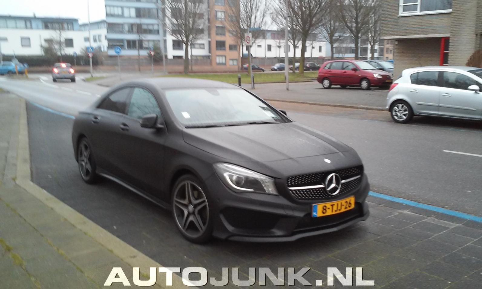 Matt Zwart Mercedes Benz Cla 180 Foto S 187 Autojunk Nl