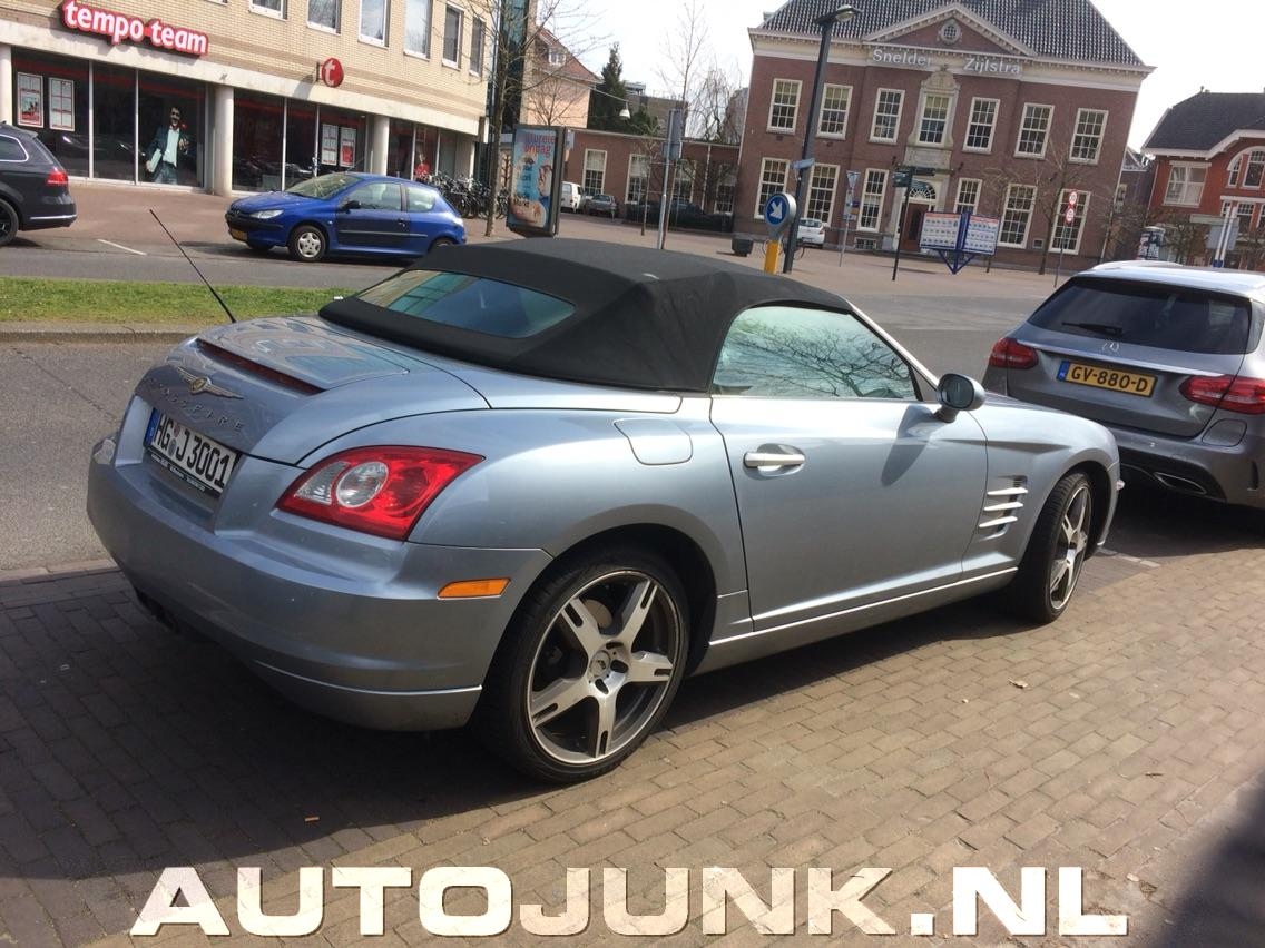 chrysler crossfire cabrio foto 39 s 165439. Black Bedroom Furniture Sets. Home Design Ideas