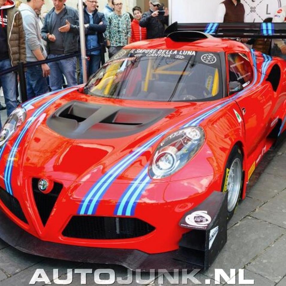 Alfa Romeo 4C Hillclimb Foto's » Autojunk.nl (165849
