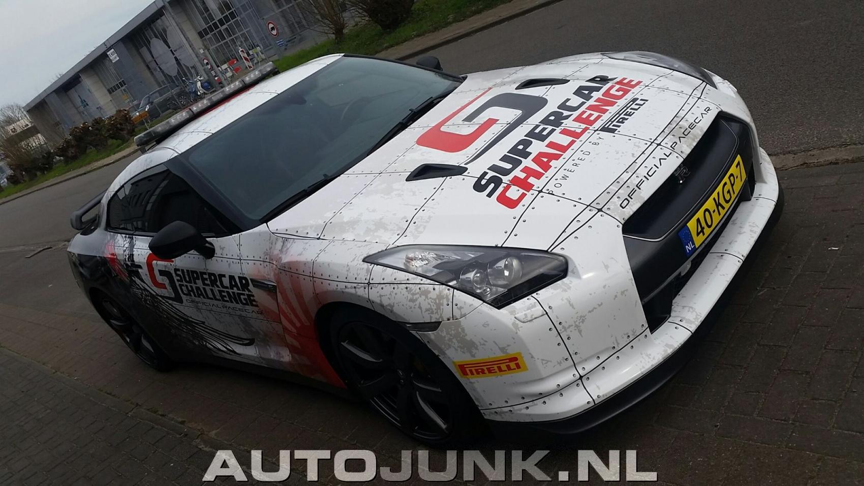 Nissan Gt R Supercar Challenge Japanse Auto Wrap Foto S Autojunk