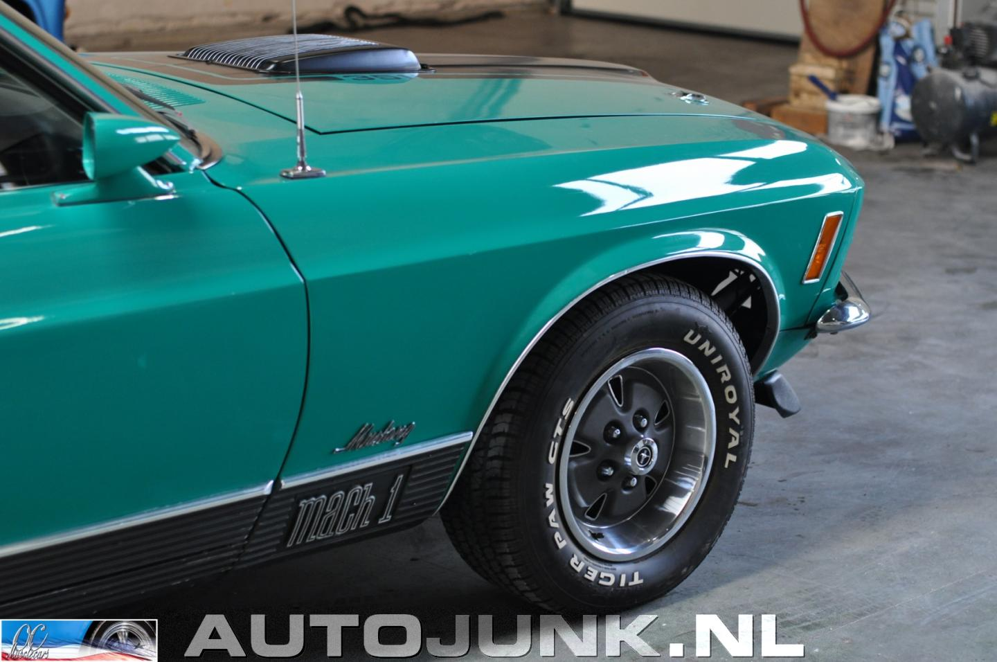 2016 Mustang Mach 1 >> 1970 Ford Mustang Mach 1 foto's » Autojunk.nl (166393)