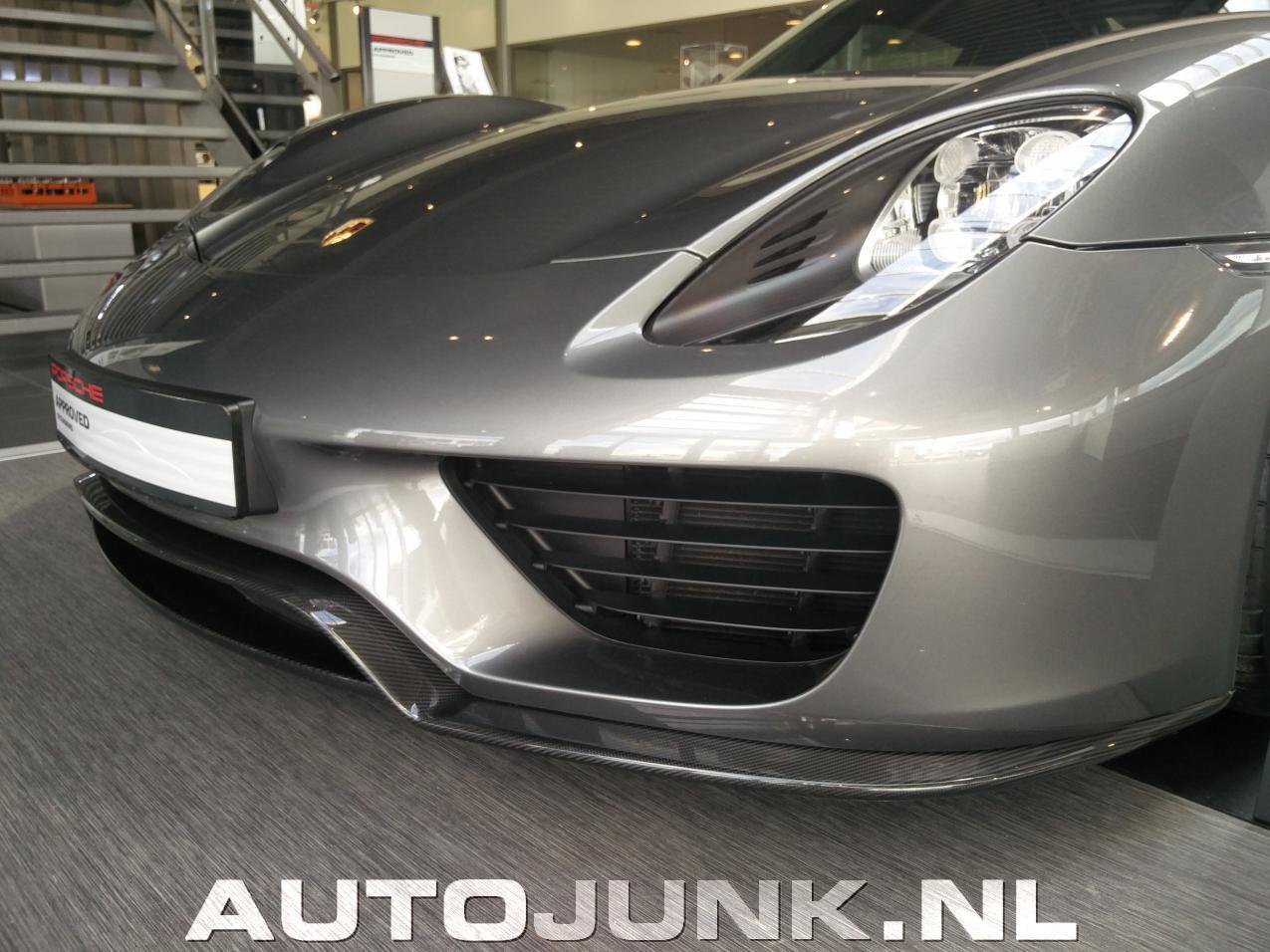 Porsche Dealers In Va >> 918 bij Porsche in Heteren foto's » Autojunk.nl (172634)