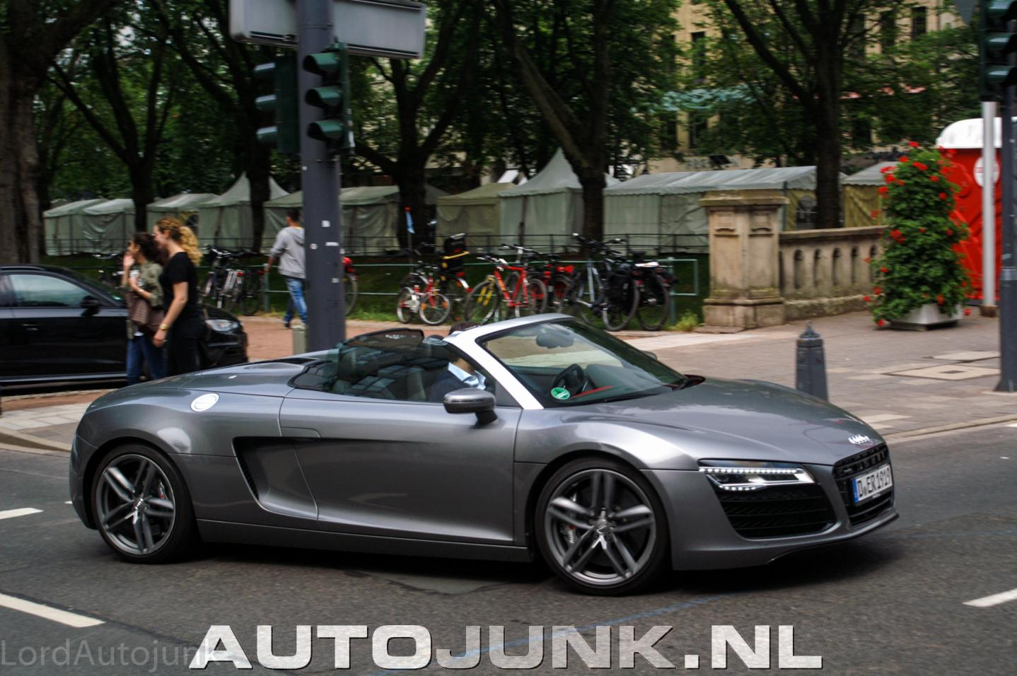 audi r8 cabrio v10 foto 39 s 172945. Black Bedroom Furniture Sets. Home Design Ideas