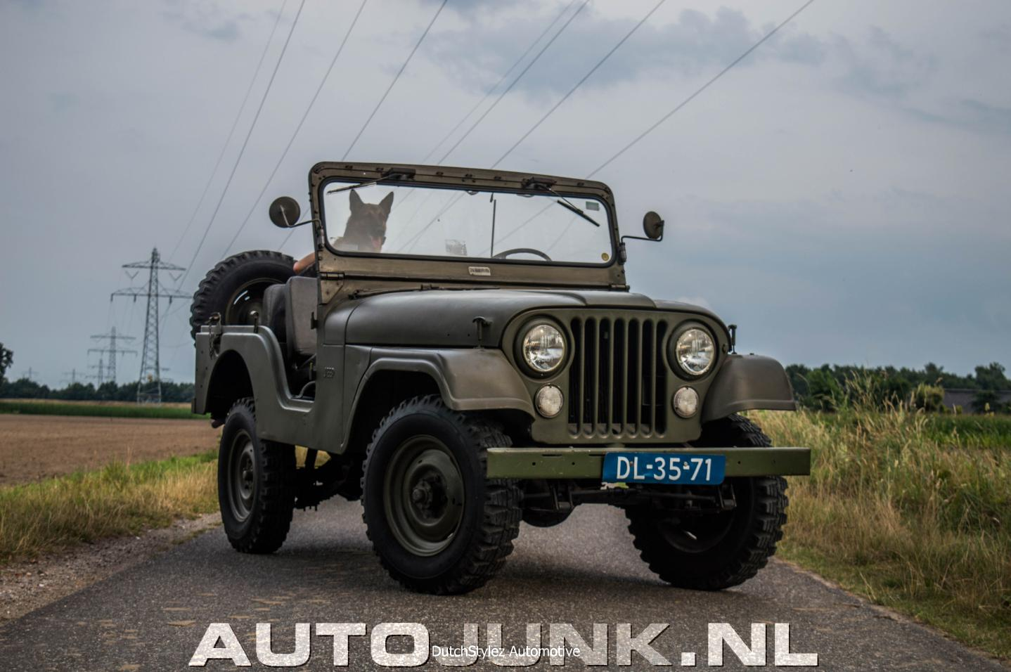 Kaiser jeep dj 5 foto 39 s 174470 for Garage jeep luxembourg