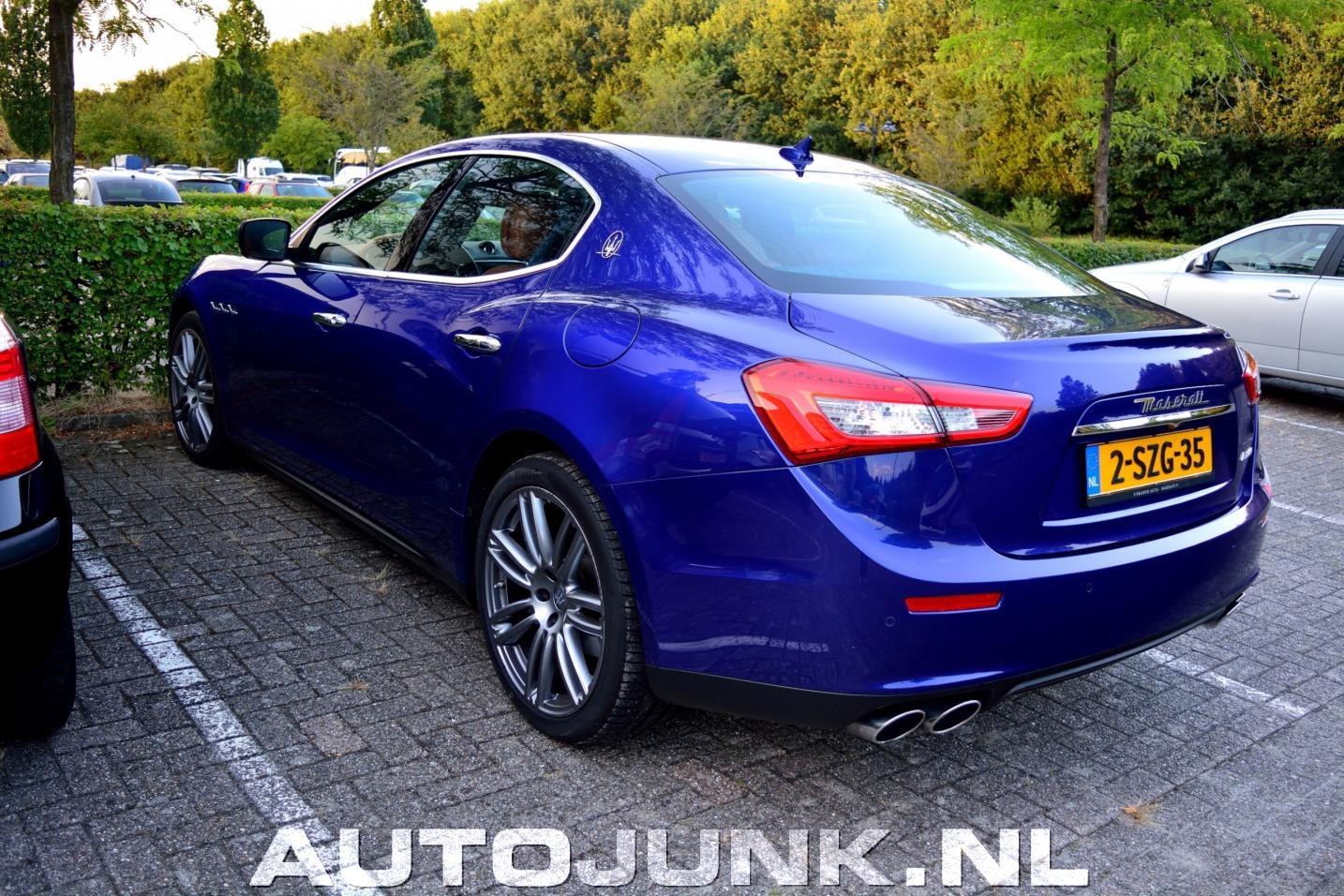 Maserati Ghibli Diesel 2013 foto's » Autojunk.nl (176628)