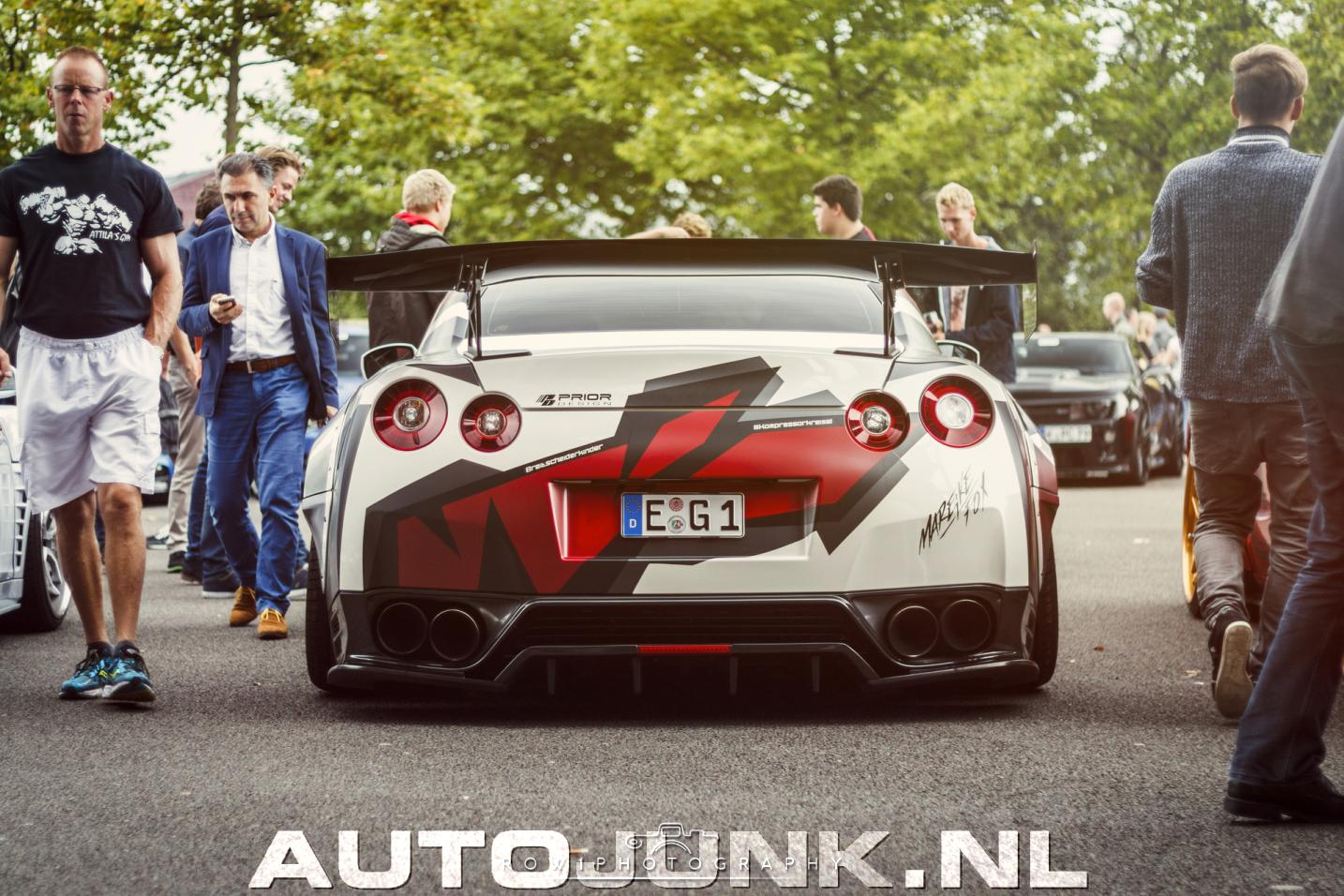 Nissan GT-R Prior Design Widebody van Mareike Fox fotos