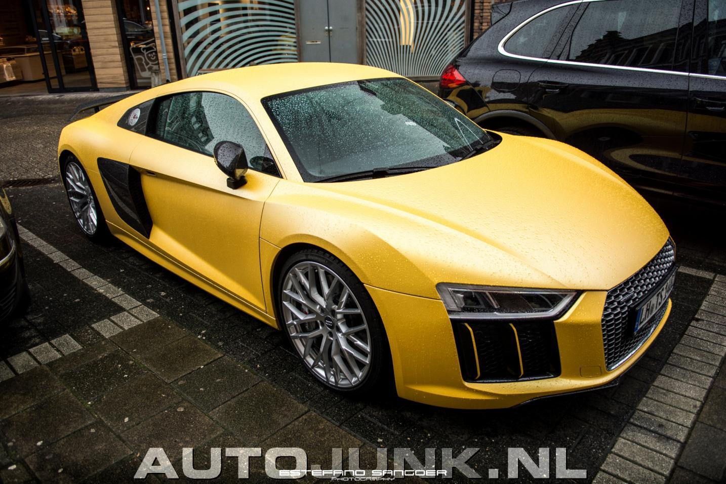 Mat gele audi r8 v10 foto 39 s 188360 for Gele lampen auto