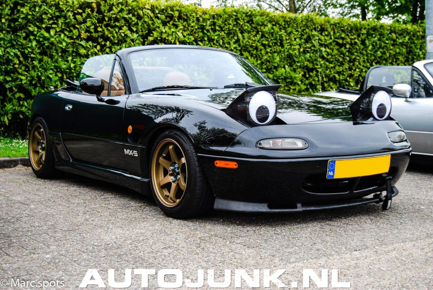 mazda mx5 na googly eyes foto 39 s 195753. Black Bedroom Furniture Sets. Home Design Ideas
