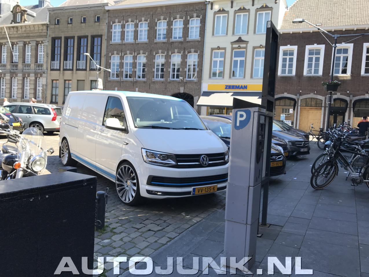 Onwijs Volkswagen Transporter met flinke velgen foto's » Autojunk.nl (197455) MK-67