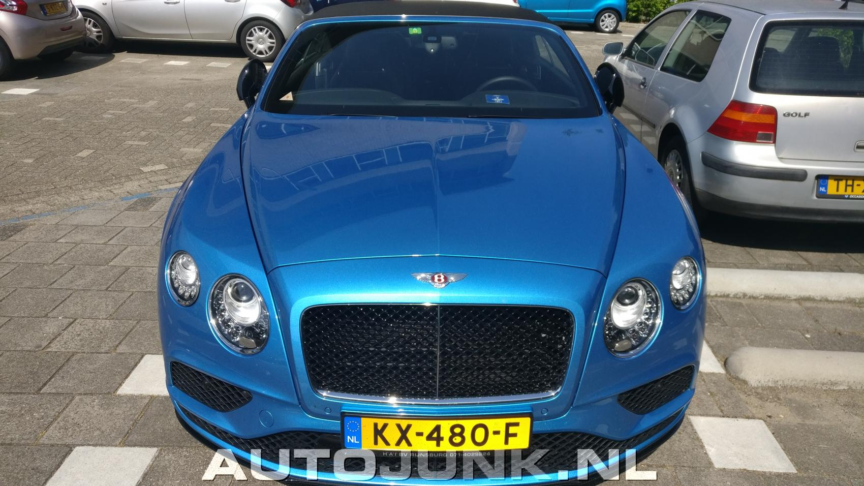 100 Baby Blue Bentley Bentley Continental Gtc News