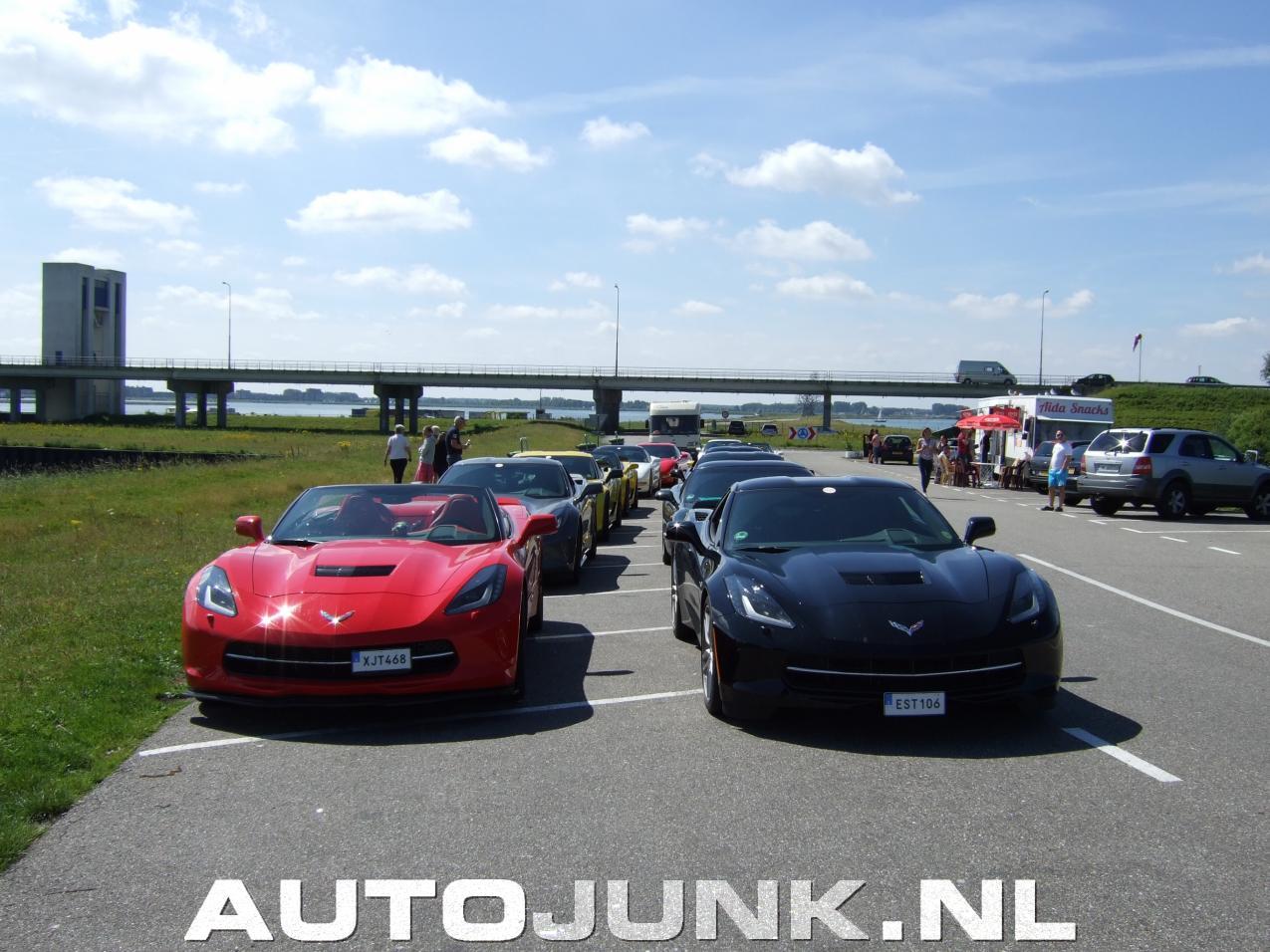 Zweedse Corvette Club In Lelystad Foto S Autojunk Nl