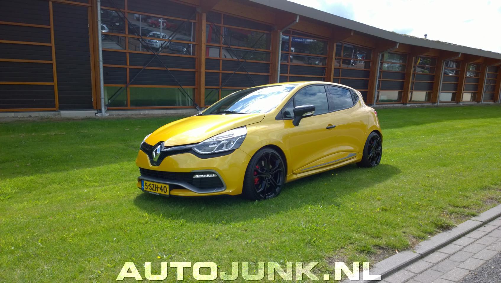 Świeże Clio IV RS met H&R verlagingsveren foto's » Autojunk.nl (202722) TJ18