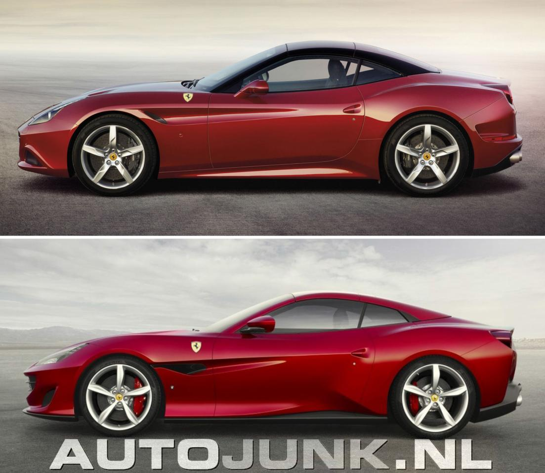 Ferrari Portofino: Ferrari Portofino Vs California Foto's » Autojunk.nl (203459