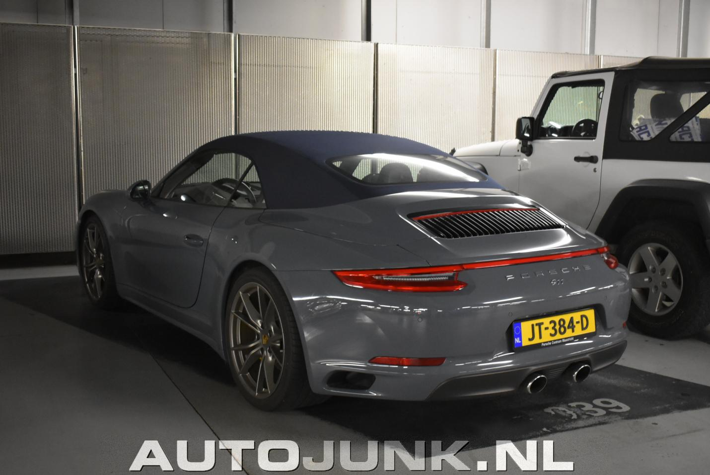porsche 991 carrera 4s cabriolet mk ii foto 39 s autojunk. Black Bedroom Furniture Sets. Home Design Ideas