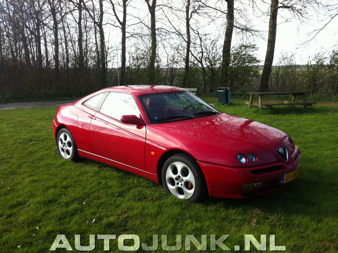 Alfa Romeo Gtv 30 V6 24v Redstyle Full Red Fotos