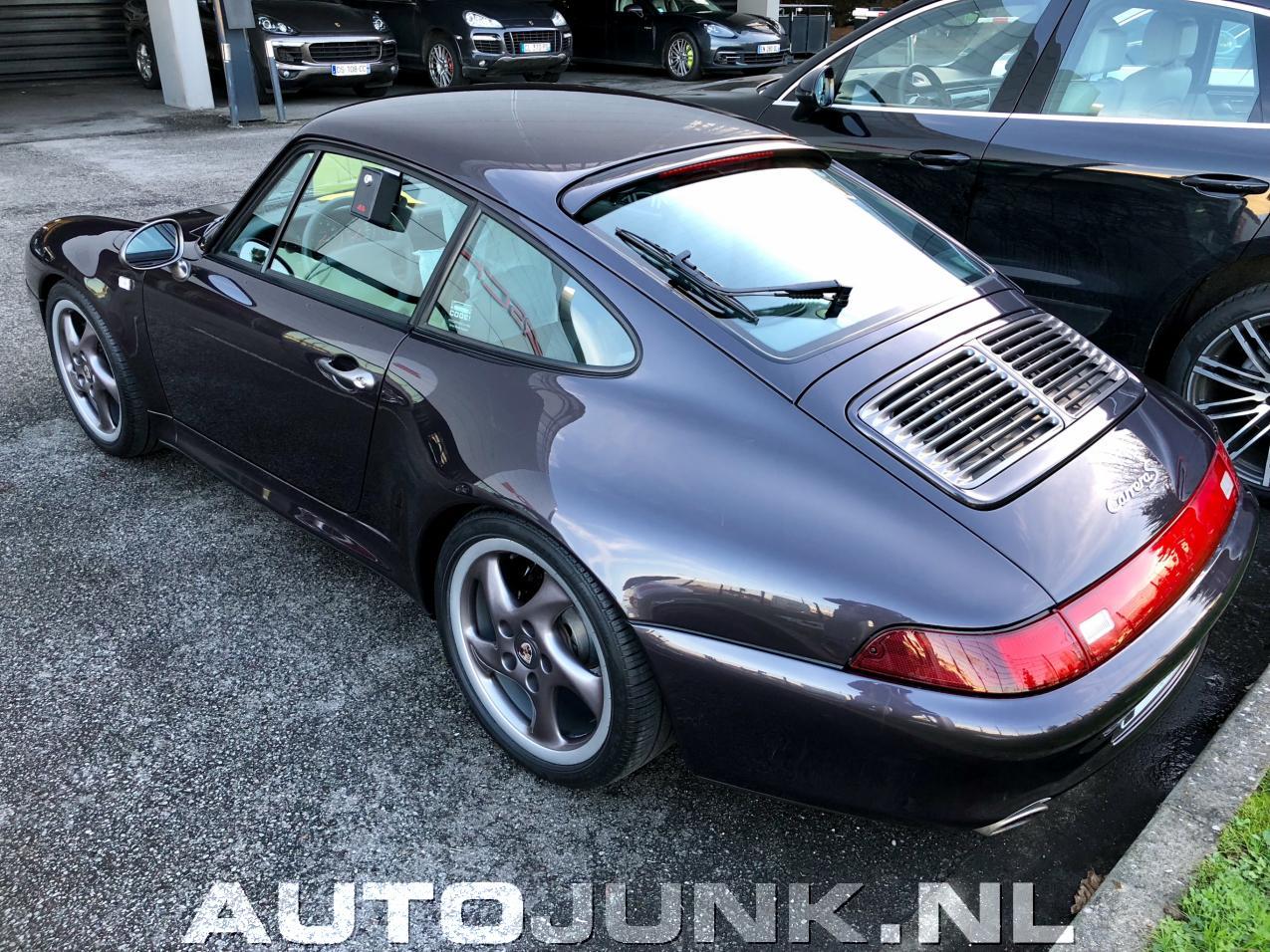 Paarse Porsche Van Onschatbare Waarde Fotos Autojunknl