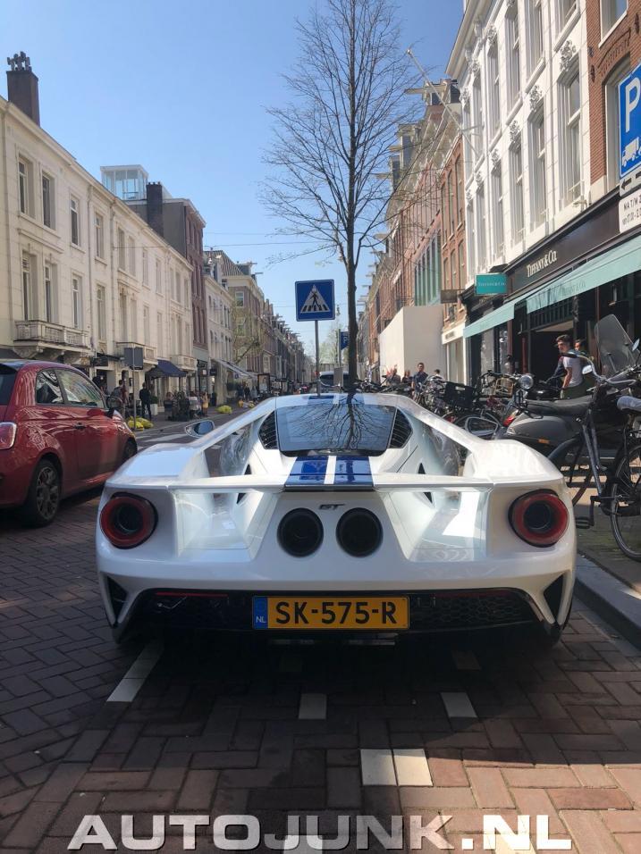 Fotos Splinternieuwe Ford Gt In Hartje Amsterdam