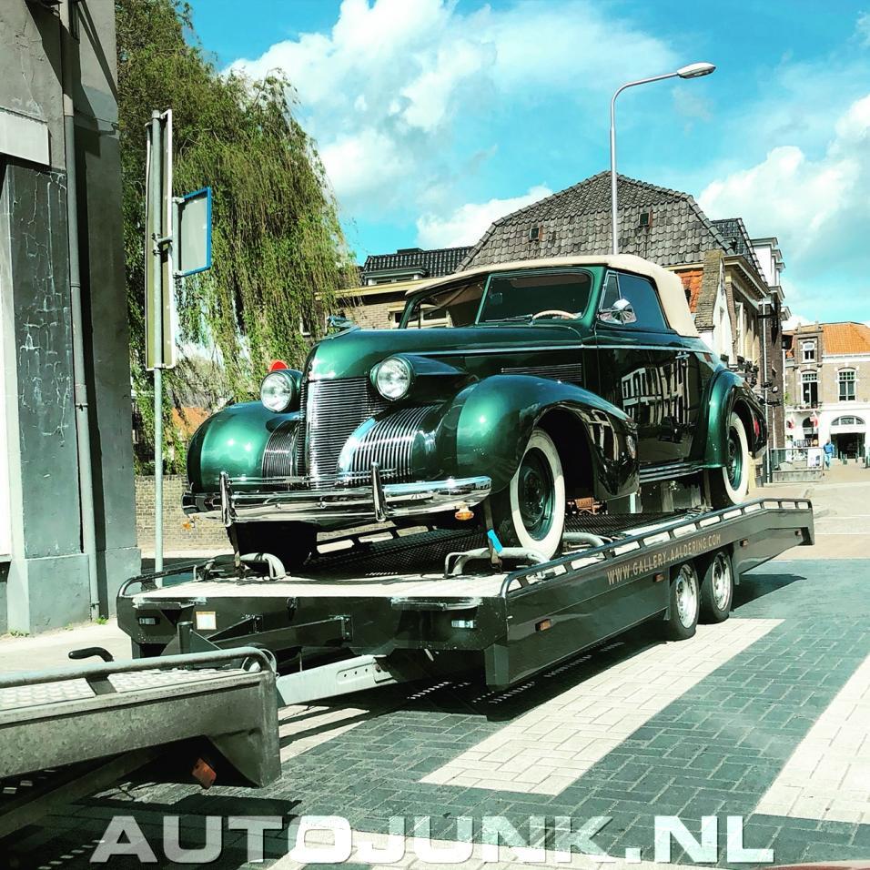 1940 Cadillac LaSalle Convertible Foto's » Autojunk.nl