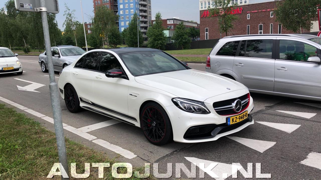 Mercedes C63s Amg Edition 1 Foto S