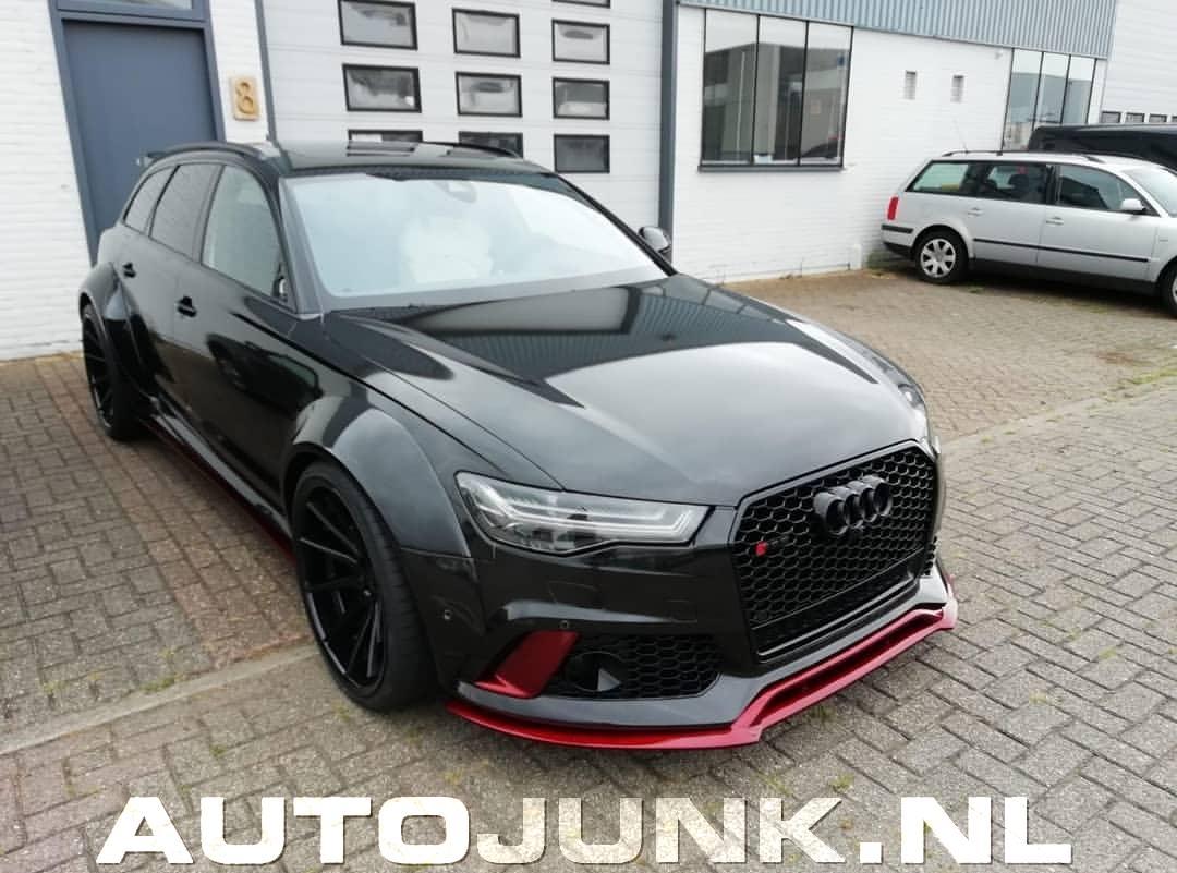 Nieuwe Auto Van Boef Rapper Audi Rs6 Prior Design Met 22inch