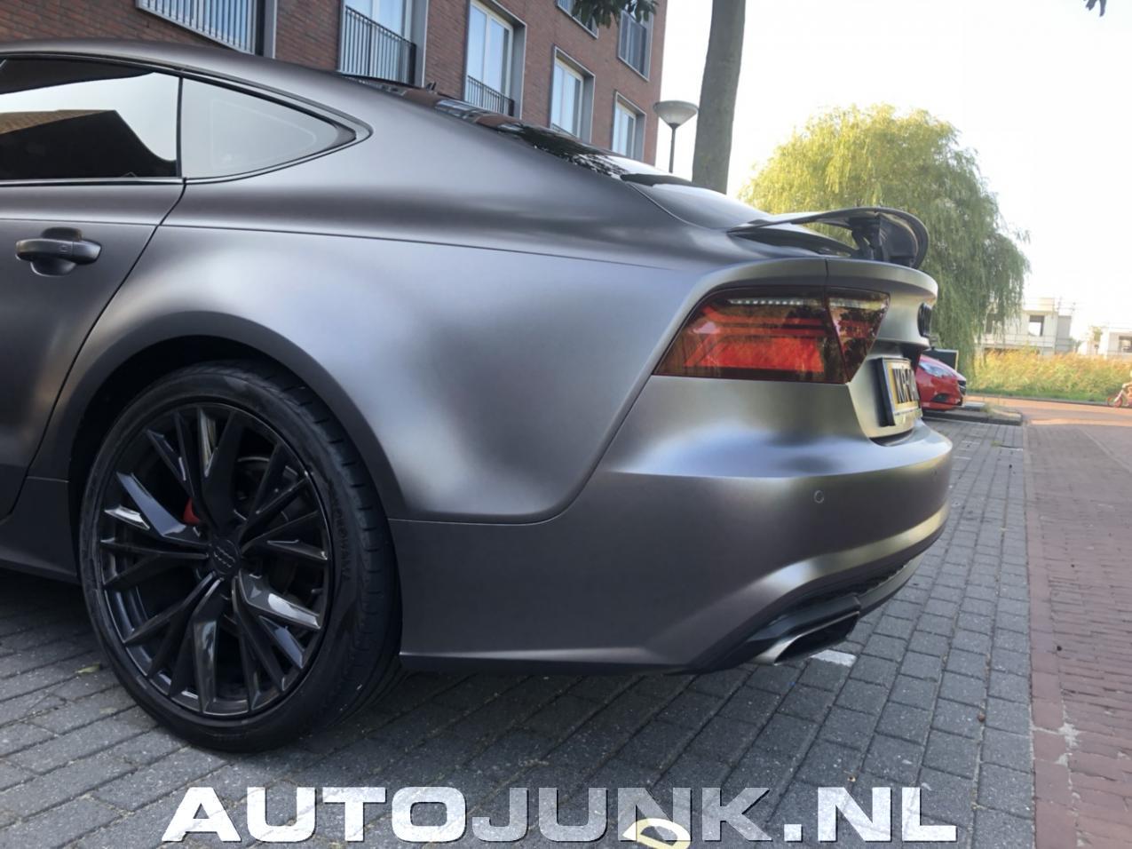 Mat Grijze A7 S Line Op Zwarte Velgen Mag Dit Fotos