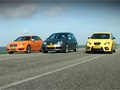 Video: VAG Triple Test: Cupra + R32 + S3