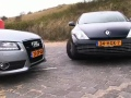 Video: Audi A5 vs Laguna Coupe