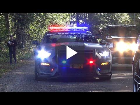 Shelby Gt500 Eleanor >> Ford Mustang Shelby GT350R Police Interceptor! video ...