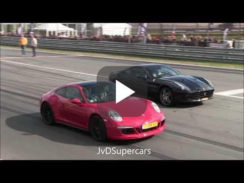 800HP Switzer Nissan GT-R P800 vs Ferrari California T vs ...
